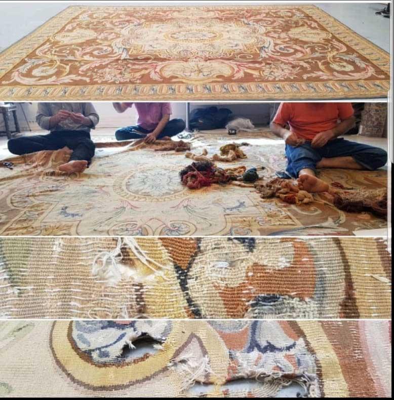 Restauration de tapis à Monaco