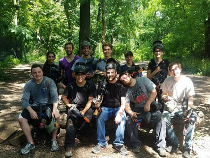 Group Outing: Paintball Battles