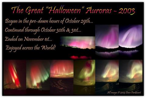 Great Halloween Auroras 2003