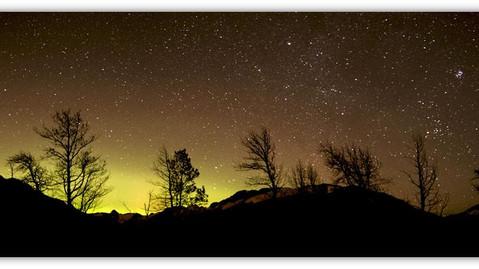 Auroral Glow Backlights