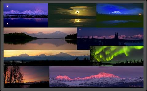 Alaskan Range ~ Dusk to Dawn