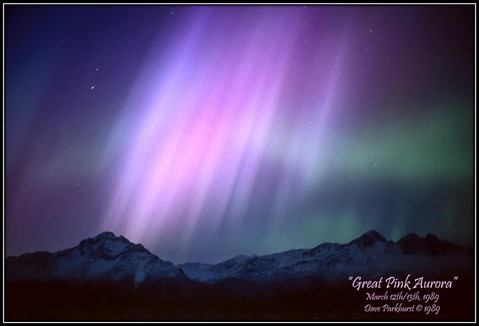 Great Pink Aurora