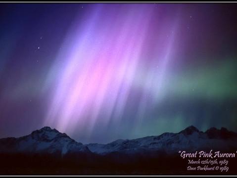 Great Pink Aurora