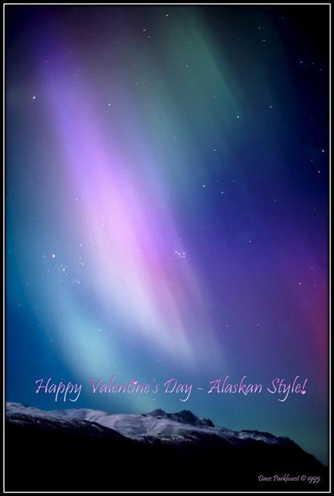 Happy Valentine's Day from Alaska