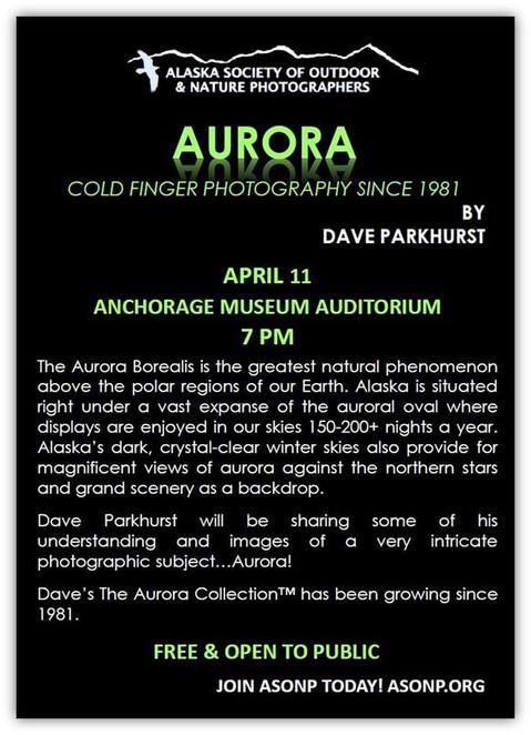 AurorA Presentation-Anchorage Museum Auditorium!  :o)