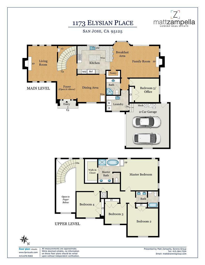 1173 Elysian Pl -Floor Plan