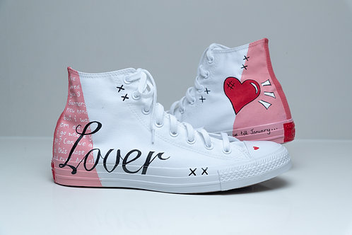 CONVERSE // LOVER - TAYLOR SWIFT