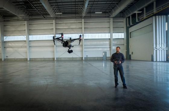 Flying Steven Spielberg's Inspire 2!