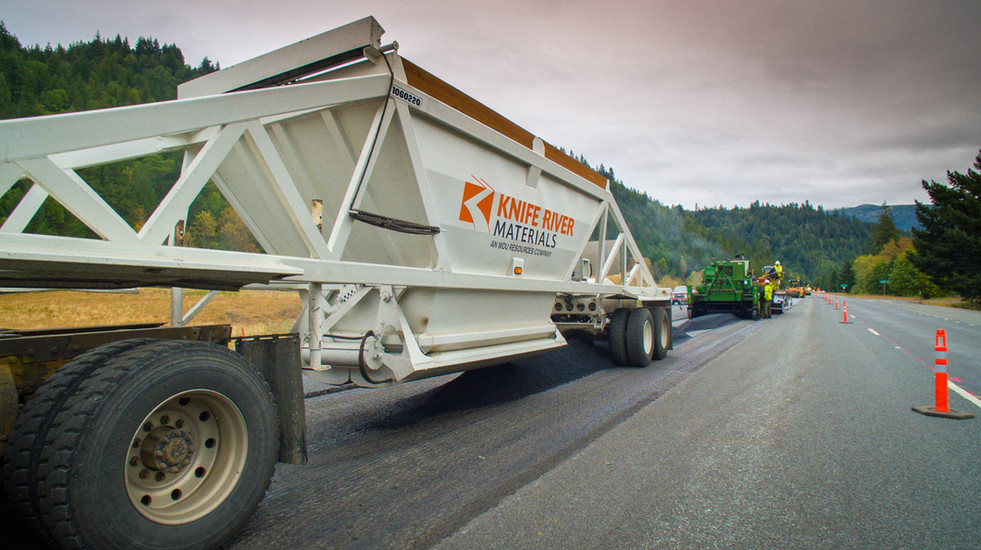 Knife River Paving Project