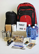 A disaster supply kit,or go bag is a col