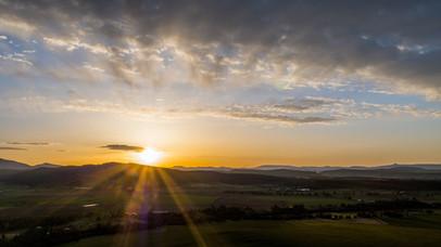 Sunrise in Bend