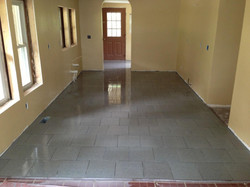 Stone Tile Kitchen Floor