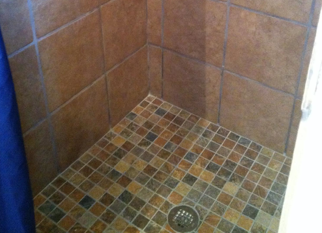 Tile Shower Pan