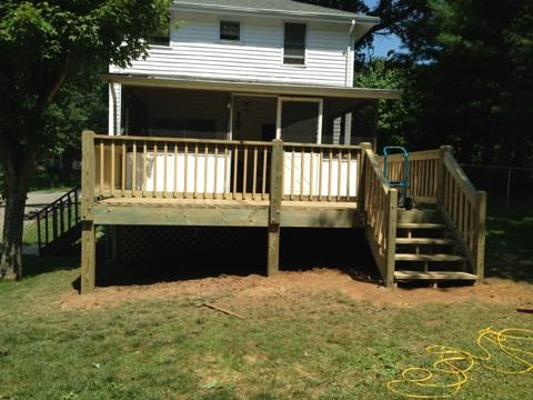 Completed Deck Addition