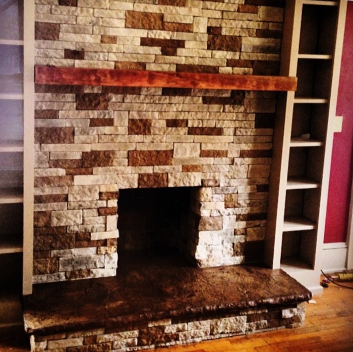 Fireplace Upfit