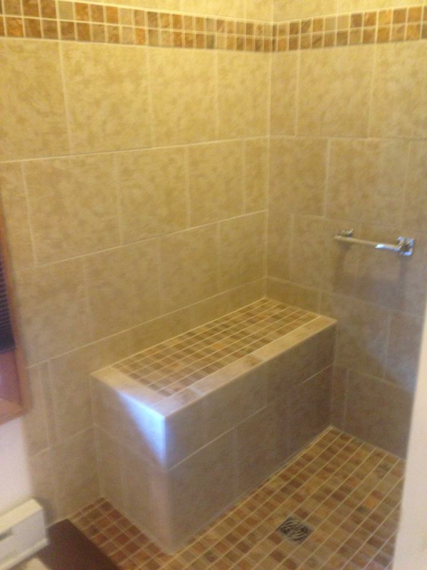 Handicap Accessible Shower