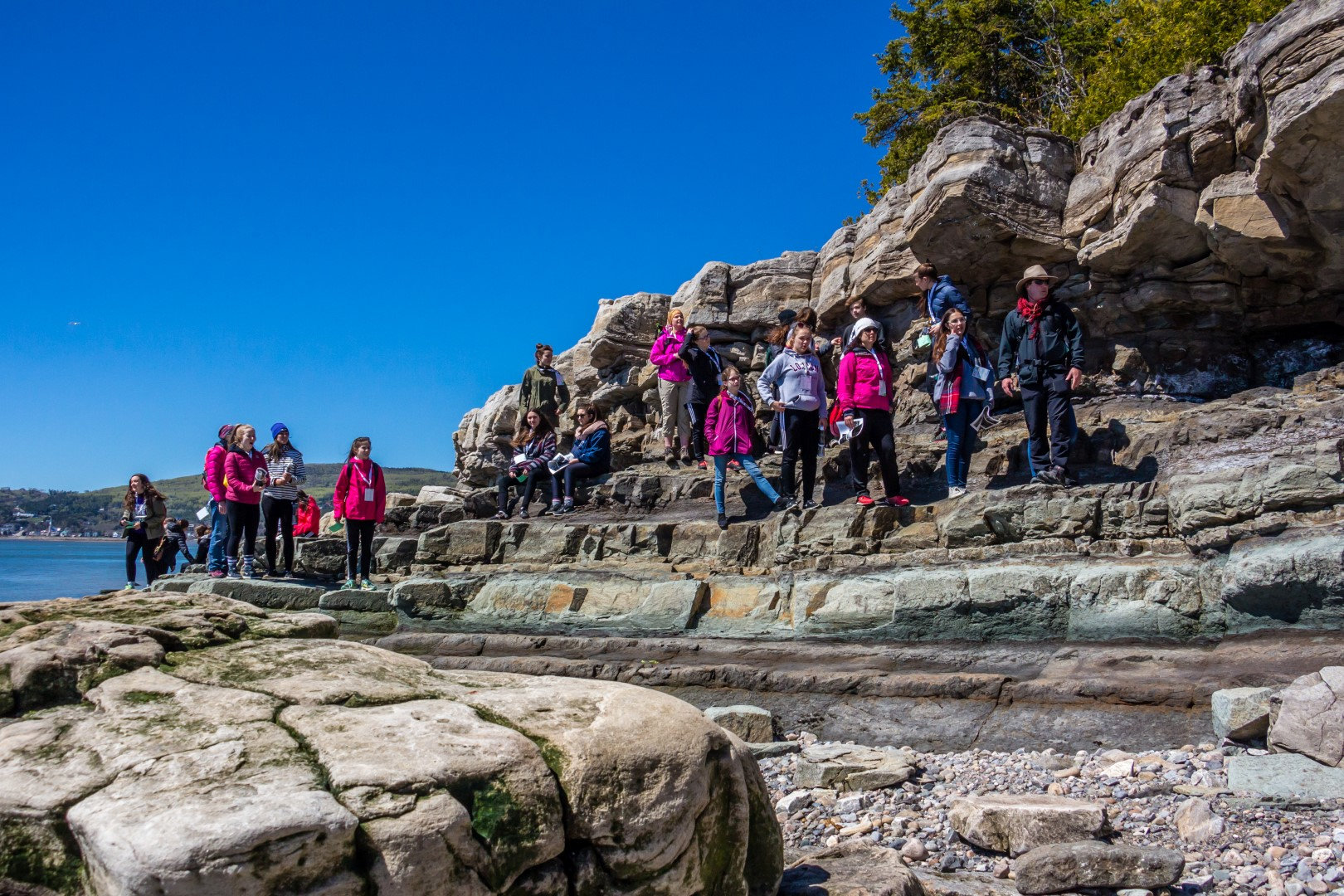 Excursion découverte de la géologie (Fr)