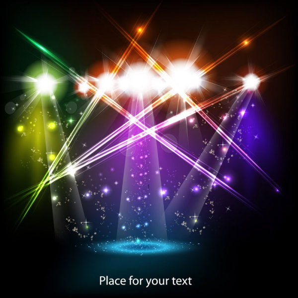stage_neon_light_elements_vector_background_520503