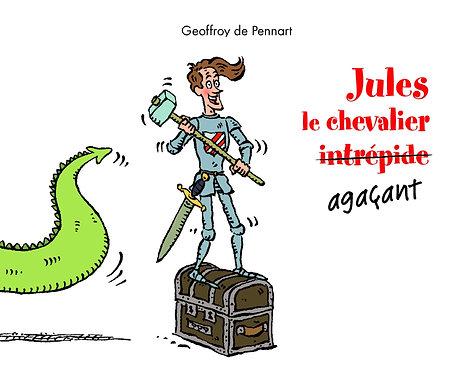livre Jules le chevalier agaçant