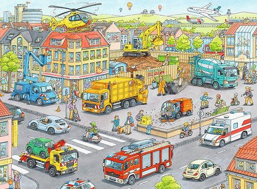 Puzzle Transports en Ville