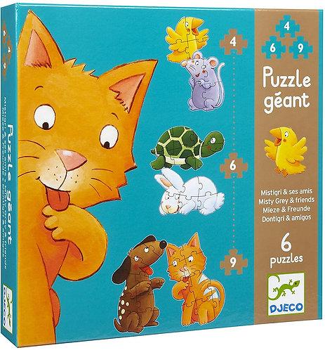 Puzzle Géant Mistigri et ses amis
