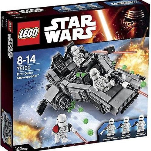 Lego Star Wars Transporteur de Munitions du 1er Ordre 75100