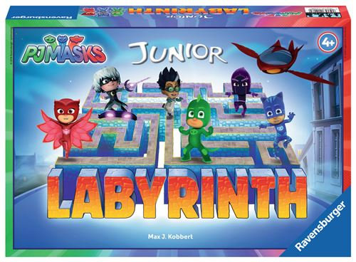 Jeu de société Junior Pyjamasques Labyrinthe