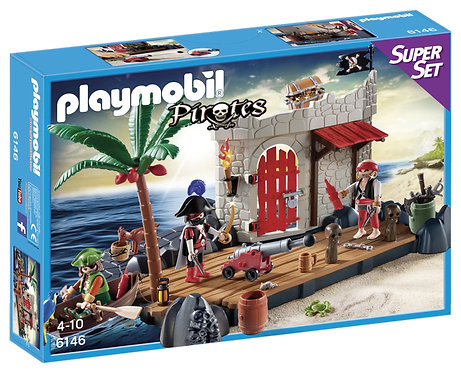 Playmobil Super Set Ilôt des pirates 6146