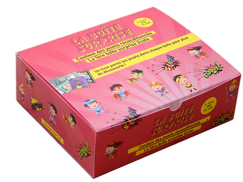 Boîte surprise fille 3-5 ans