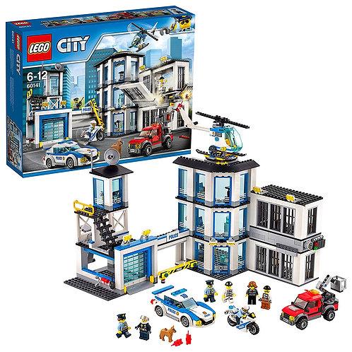LEGO City 60141 - Le commissariat de police