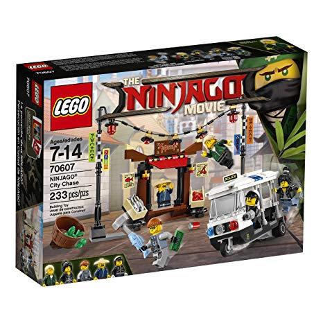 The ninjago movie - lego 70607