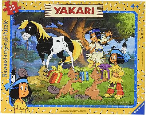 Puzzle Tout Va Bien, Yakari 35 Pièces