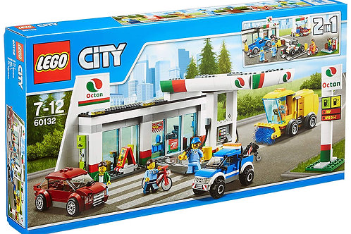 LEGO City 60132 - La Station-service