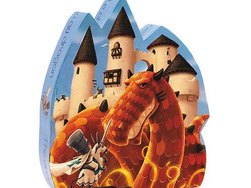 Djeco Puzzle Le Château au dragon