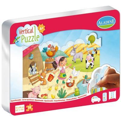 Vertical Puzzle : Basse-cour