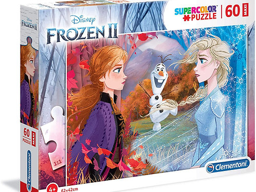 Puzzle 60 pièces, Supercolor Disney La Reine des Neiges 2