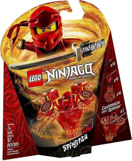 ninjago - Kai Spinjizu masters