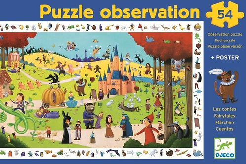 Puzzle observation Djeco