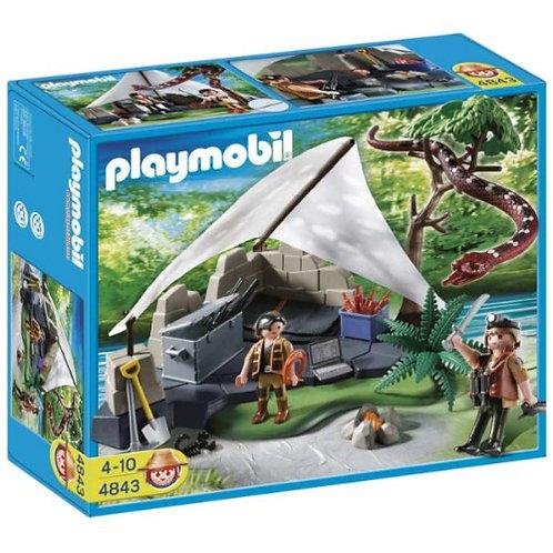 Playmobil - 4843 - Campement des Aventuriers