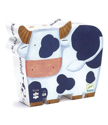 """Puzzle """"Les Vaches a la ferme"""""""
