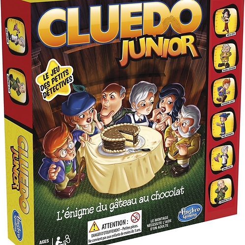 Cluedo junior : L'Énigme du gâteau au