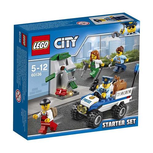 Lego City 60136 - Ensemble de démarrage de la police