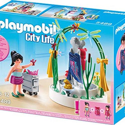 Playmobil - 5489 - Figurine - Styliste avec Podium Lumineux