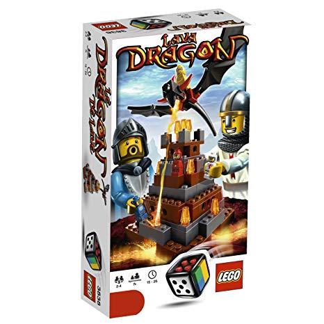 Lego Lava Dragon 3838