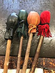 Handmade cope sticks