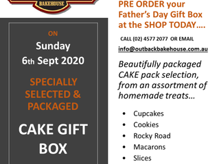 Pre Order Now... your Father's Day        6th Sept 2020 CAKE GIFT BOX