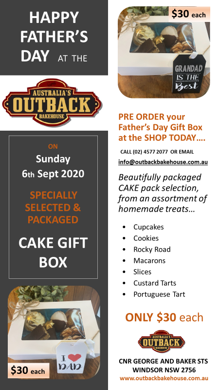 Pre Order Fathers DAY CAKE GIFT BOX