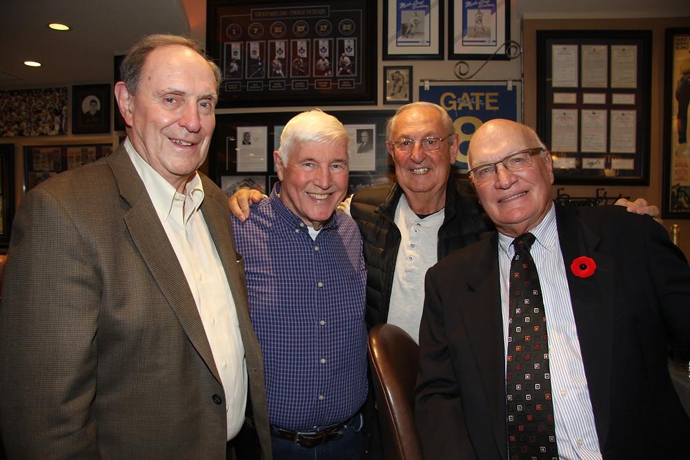 Len Broderick, Lloyd Quance, Gus Badali and Ken Girard