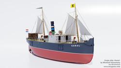 Cargo ship Kanal