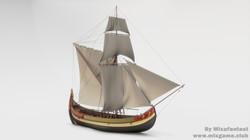 Ottoman coastal trade ship